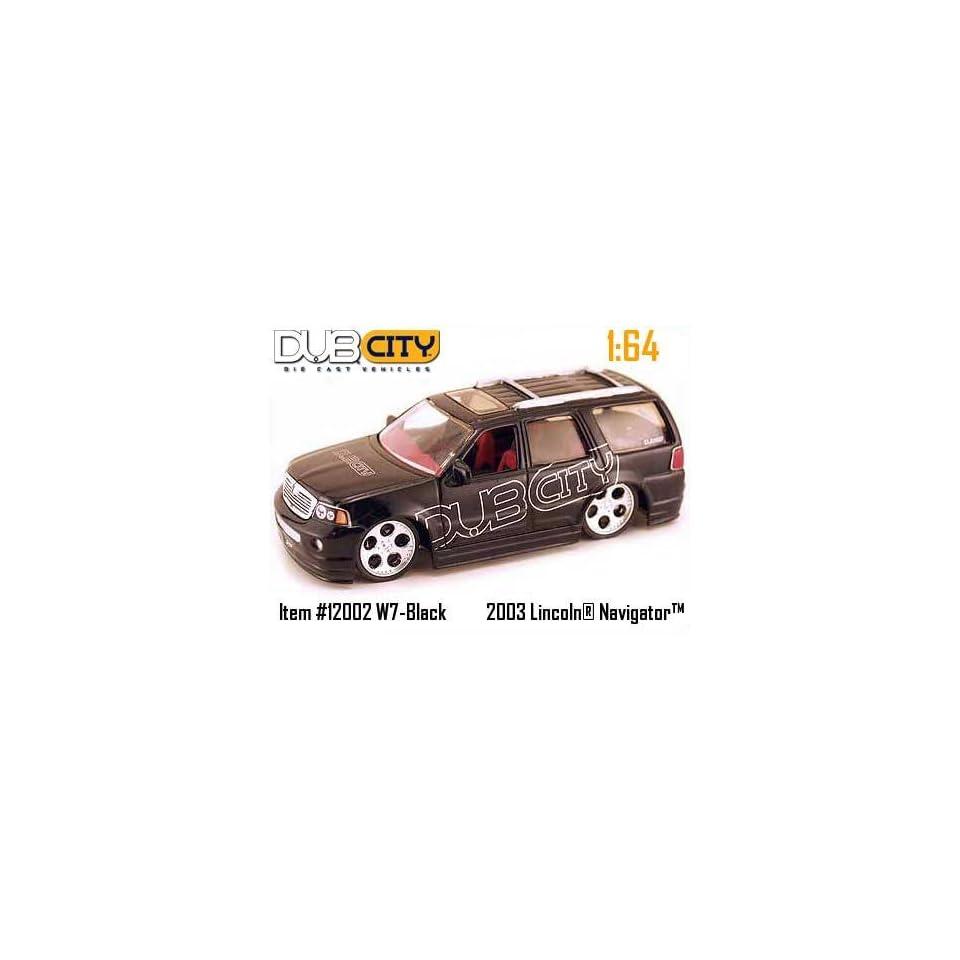 Jada Dub City Black Lincoln Navigator 164 Scale Die Cast Truck
