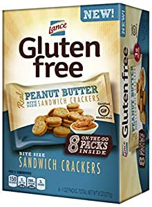 Amazon.com: Lance Gluten Free Sandwich Crackers On-The-Go ...
