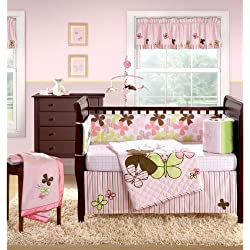 Banana Fish Mod Butterfly 4 Piece Crib Set