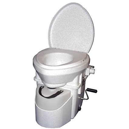 Natures Head composting toilet with standard handle