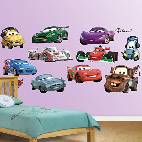 Disney/Pixar Cars 2 Collection Wall Graphic (Disney Characters Male)