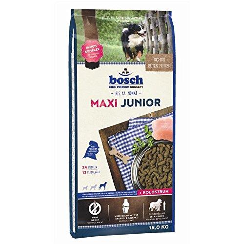bosch Hundefutter Maxi Junior, 1er Pack (1 x 15 kg)