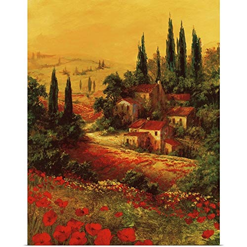 Great Big Canvas Poster Print Entitled Toscano Valley I by Art Fronckowiak 29