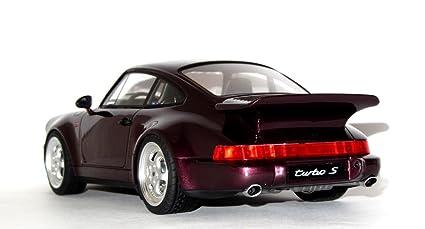 Porsche 911 (964) Turbo S Leichtbau, metallic-dunkelviolett, 1992, Modellauto