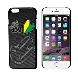 Eat Sleep JDM Carbon Carbon Fiber Pattern iphone 6 plus Case