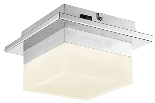 Deckenleuchte LED 8 Watt Wandlampe Beleuchtung Chrom Deckenlampe Esszimmer  Esto Rita 740038 1