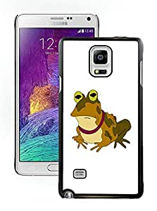 Fashionable And Unique Designed With Futurama Hypnotoad Cover Case For Samsung Galaxy Note 4 N910A N910T N910P N910V N910R4 Black Phone Case CR-229