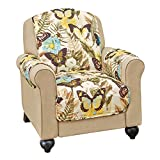 Quilted Butterflies Furniture Cover Protector, Chair
