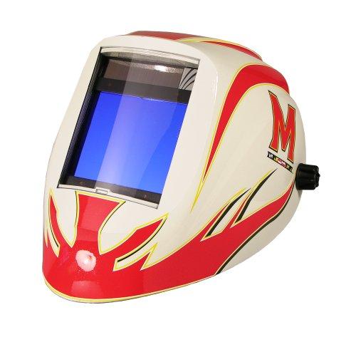 (ArcOne X540V-MD Maryland Collegiate Logo Welding Helmet with X540V Filter)