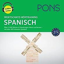 Wortschatz-Hörtraining Spanisch: Über 2.000 Wörter & Wendungen hören und lernen Hörbuch von Majka Dischler Gesprochen von: Megui Cabrear, Bert Cöll