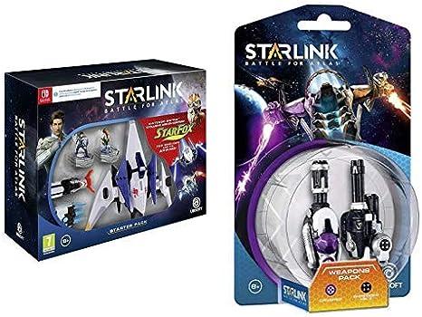 Starlink: Battle for Atlas - Starter Pack & Pack De Armas Crusher + Shredder: Amazon.es: Videojuegos