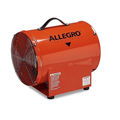 Axial Blower Ventilation (Allegro Industries 9509 Axial Blower, 12