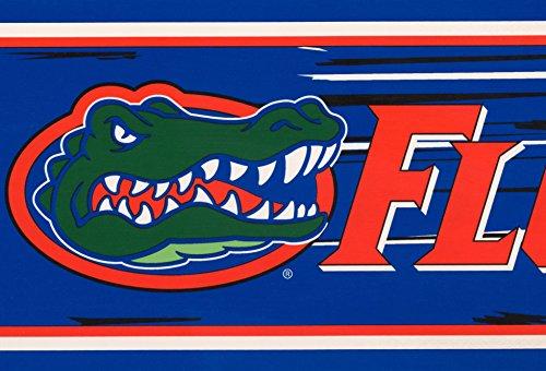Florida Gators NCAA Fan Sports Wallpaper Border Retro Design, Roll 15' x 7''