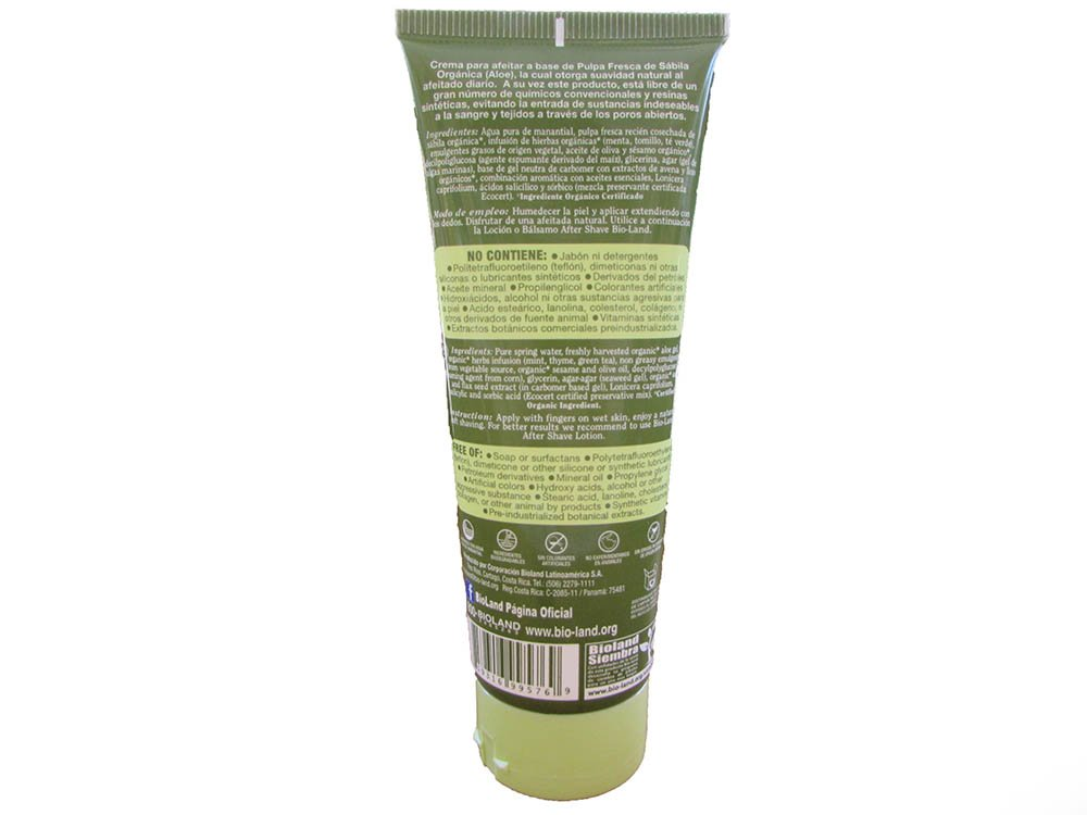 Amazon.com: Aloe Vera Shave Cream 250ml./Crema Para Afeitar Sabila 250ml: Health & Personal Care