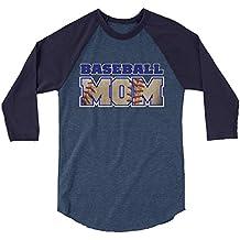 Arkansas Made Baseball Mom Jersey 3/4 Sleeve Raglan Shirt by