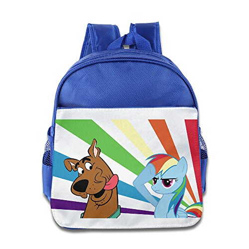 [XJBD Custom Funny Scooby Doo With My Little Pony Teenager School Bagpack Bag For 1-6 Years Old] (Audreys Costume Castle)