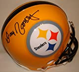 Dan Rooney Hand Signed / Autographed Pittsburgh Steelers Yellow Mini Football...