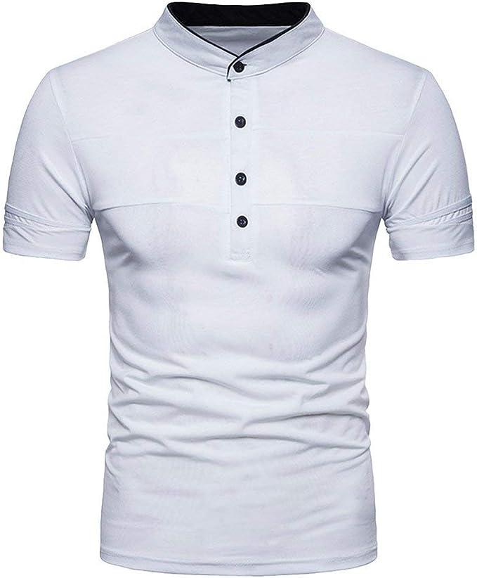 Lannister Fashion Polo Hombres Camisa De Manga Corta Retro con ...