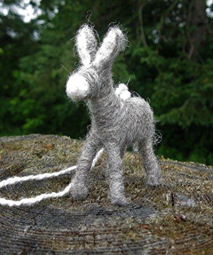 Donkey Ornaments - Gray Donkey Ornament