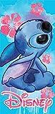 Disney Floral Stitch Beach Towel 28x58 (1)