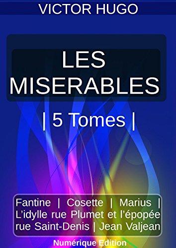 Amazoncom Les Misérables 5 Tomes Package French