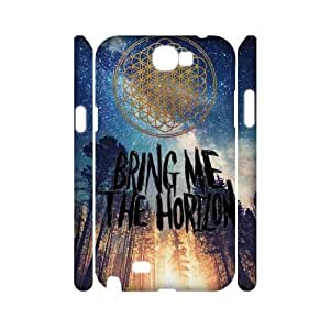Bring Me The Horizon 3D Cover Case for Samsung Galaxy Note2 N7100,diy Bring Me The Horizon 3d cover case
