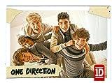 One Direction trading card #99 Louis Tomlinson, Niall Horan, Liam Payne, Zayn Malik, Harry Styles