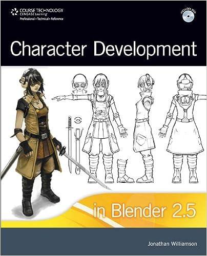 Character Development in Blender 2 5 1, Jonathan Williamson