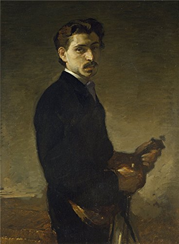 Oil Painting 'Rosales Gallina Eduardo Pinelli The Violinist