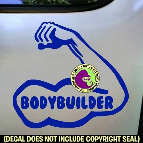 BODYBUILDER Vinyl Decal Sticker C
