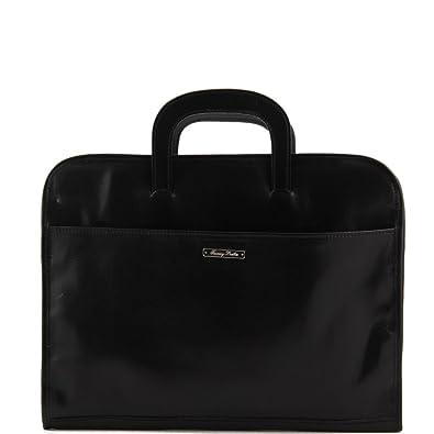 Tuscany Leather Serviette Portedocuments En Cuir Noir Homme - Serviette porte document homme