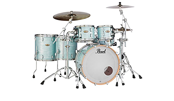 Amazon Com Pearl Session Studio Select Series 5 Piece Shell Pack Hardware Cymbals Not Included Ice Blue Oyster Sts925xsp C414 Musical Instruments