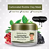 Fission Bioaqua Kawaii Black Clay Mask Winter Deep Cleaning Moisturizing Skin Care