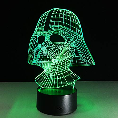 Star Wars Darth Vader 3D Acrylic LED 7 Colors Night Light Table Desk Lamp Gifts