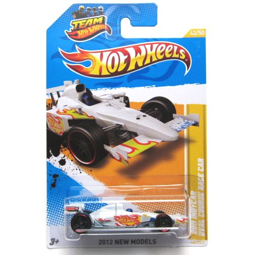 Hot Wheels 2012 2011 Indycar Oval Course Race Pearl White New Models (Walmart Hot Wheels Track)