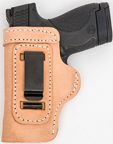 CUSTOM HAND CUT&FIT LEATHER HOLSTER Natural RH Right OWB/...