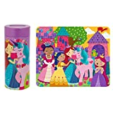 Stephen Joseph Tin Bank with Unicorn Puzzle Accessories, Purple, N/A
