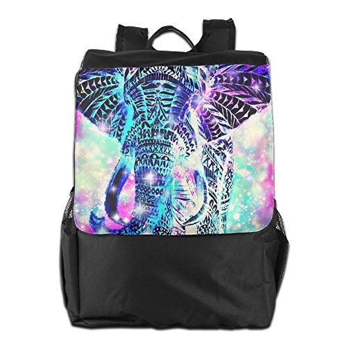 Backpack Dayback Women Personalized For Strap Storage Men School Outdoors And Shoulder Blingbling HSVCUY Adjustable Travel Camping Elephant 6EwTqxx7C