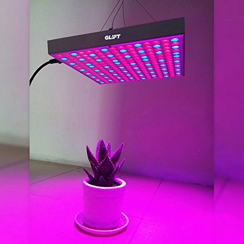 45W LED Plant Grow Light Indoor Hanging Light Panel for G...