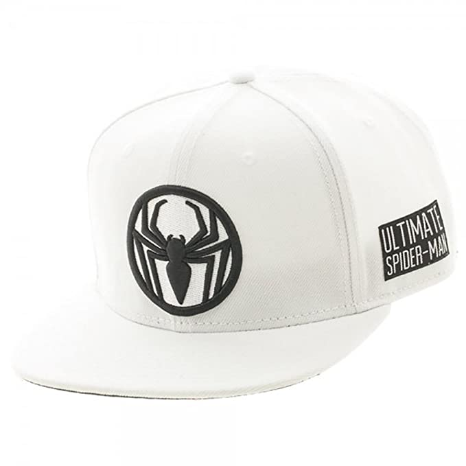 2d037df469e Amazon.com  Marvel Comics Ultimate Spiderman Logo Black on White ...