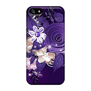lintao diy Brand New 5/5s Defender Case For Iphone (purple Wow)