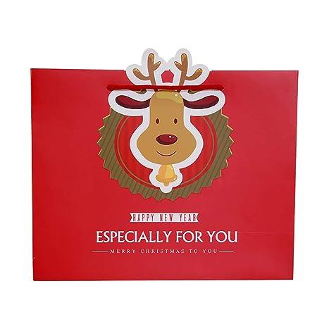 hosaire 10 pcs pequeño bolsita regalo Mignon de Noel - Bolsa ...