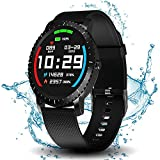 Best Gps Running Watch For Men - Smart Watch with Connected GPS, IP68 Waterproof Digital Review