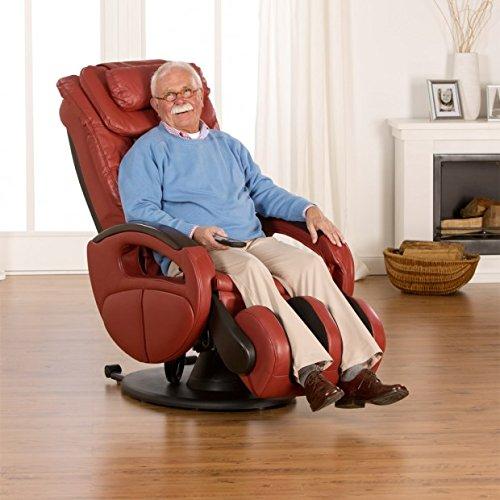 Massagesessel »Komfort Deluxe«, mit Shiatsu-Massagefunktion, drehbar, Transportrollen