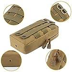TOUROAM Trauma Medical First Aid Kit -Tactical Emergency Israeli Bandage-Survival Military Combat Tourniquet-Small IFAK… 9