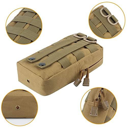 TOUROAM Trauma Medical First Aid Kit -Tactical Emergency Israeli Bandage-Survival Military Combat Tourniquet-Small IFAK… 4