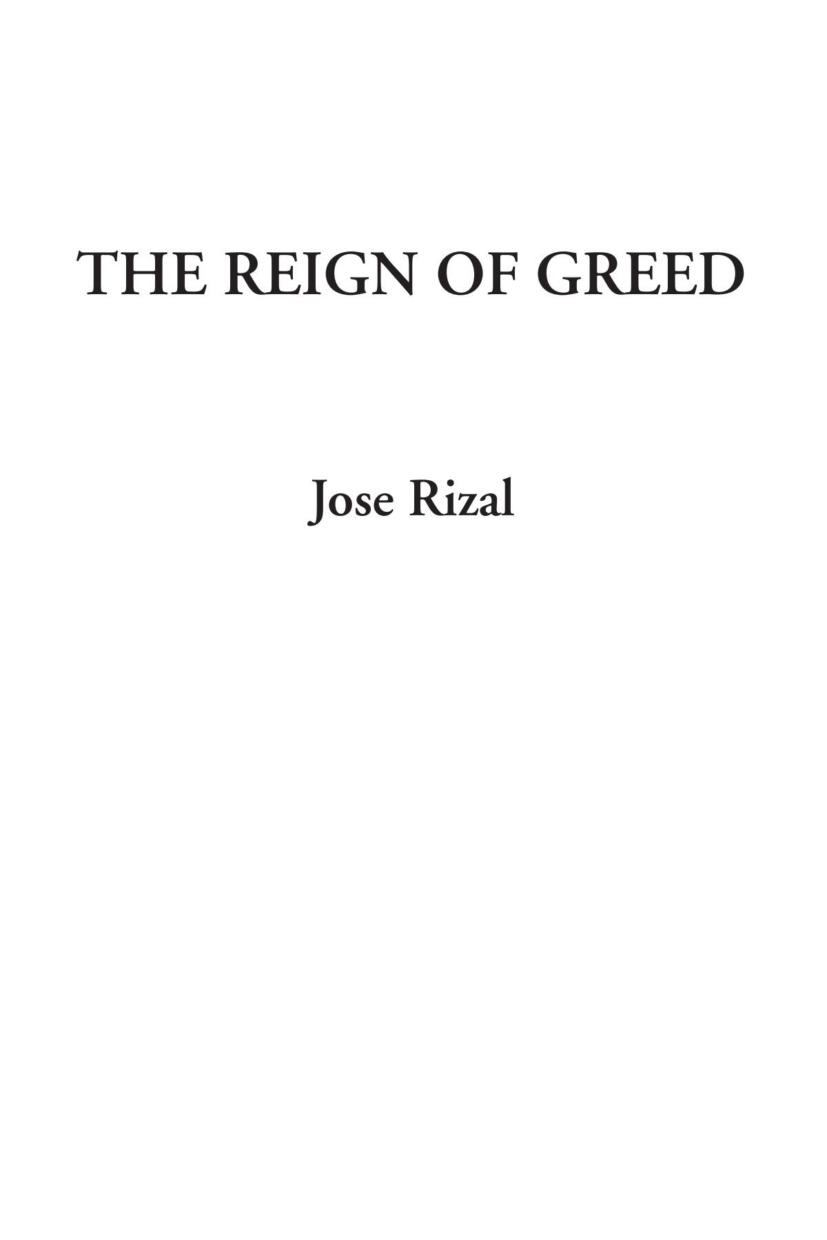 The Reign of Greed ebook