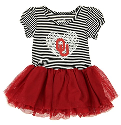 OuterStuff NCAA Girl's Toddlers Celebration Tutu, Oklahoma Sooners 18 Months