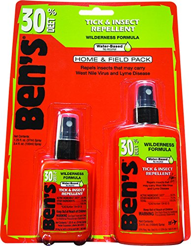 Take Home Pack (Ben's Home and Field Insect Repellent Pack, 4.65-Ounces)