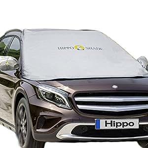 Amazon Com Windshield Snow Cover Hippo Magnetic